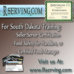 South Dakot bartender license approved
